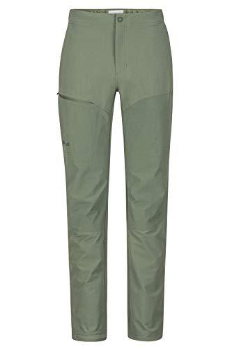 Marmot Herren Scrambler Pant Trekkinghose Softshell Funktionshose, Wasserabweisend, Crocodile, 34