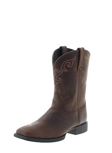 Ariat Damen Cowboy Stiefel 27383 Roper Westernreitstiefel Braun 40 EU (Ariat Stiefel Für Damen)