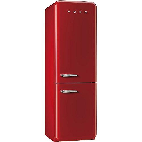 Smeg FAB32RRN1 freestanding 304L A++ Red fridge-freezer usato  Spedito ovunque in Italia