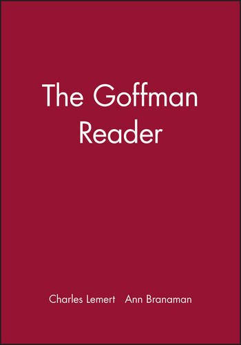 Goffman Reader (Blackwell Readers)