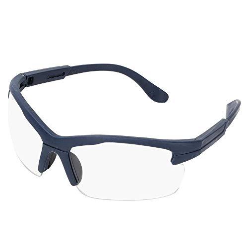 SolUptanisu Professionel Schutzbrille mit Durchsichtigen Anti-Beschlag und kratzbeständigen Gläsern, Winddicht Staubdicht Arbeitsschutzbrille UV-Schutz Labor Brille Zum Arbeiten, Surfen, Angeln