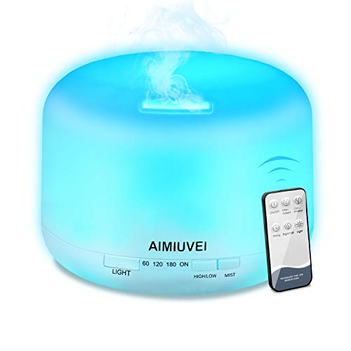 AIMIUVEI 500ml Humidificador Aromaterapia Ultrasonico