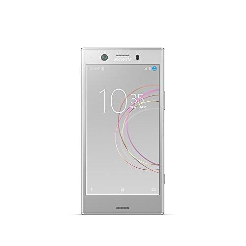 Sony Xperia XZ1 Compact Smartphone portable débloqué 4G (Ecran: 4,6 pouces - 32 Go - Nano-SIM - Android) Argent