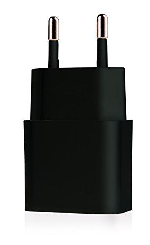 MyGadget Universal Netzteil - USB Ladestecker Adapter (5V/2A) - Ladeadapter Ladegerät für Apple iPad, iPhone, Lenovo, Samsung Galaxy Tab - Schwarz