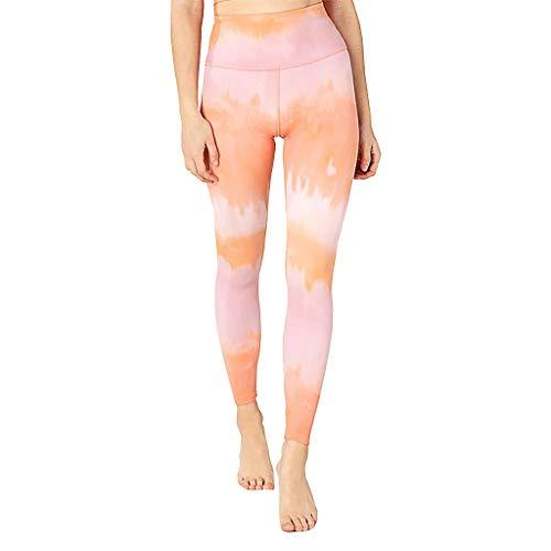 Yesmile Gedruckte Leggings Hose Damen, Drucken Sporthosen Yogahose Fitness Hüfthose Strumpfhose Hohe Taille Yoga Pants Sporthose Workout Hosen Gym Übung Jogginghose -