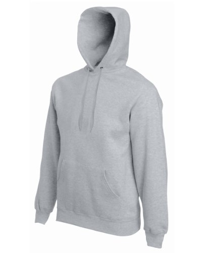 Fruit of the Loom Herren Sweatshirt 12208B Heather Grey