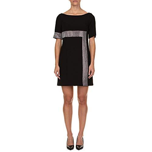 Versace Collection Damen G35756g603996g1008 Schwarz Polyester Kleid