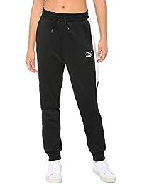 75bc5b4ddc1 PUMA Pantalon de survêtement Classics T7 en Maille pour Femme Puma Black L