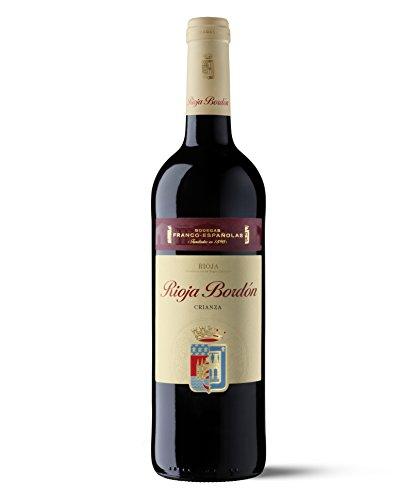 Rioja Bordon - Vino Crianza Botella 75 cl - [paquete de 3]