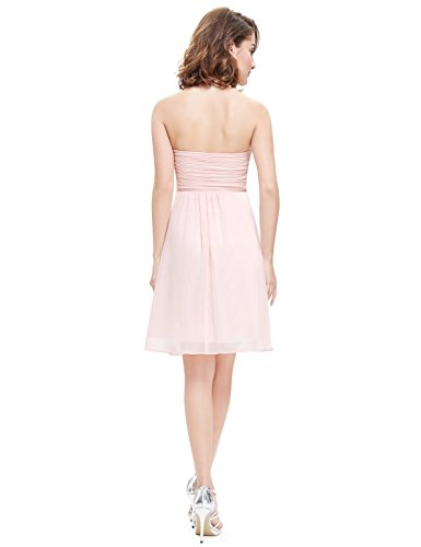 Ever Pretty décolleté 03540 Robe bustier Rose