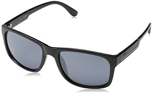 Guess Herren GF0135_01C Sonnenbrille, Schwarz (Nero), 57