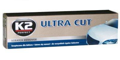 K2 Ultra Cut 100, Schleifpaste zum Entfernen tiefer Kratzer, Auto Politur, Polierpaste 100g