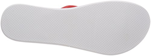 adidas Eezay Soft W, Chaussures de Plage et Piscine Femme Rouge (Real Coral S18/real Coral S18/ftwr Wht)
