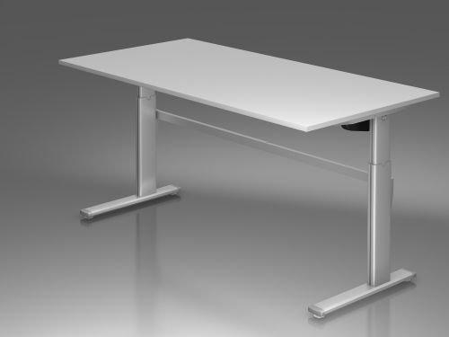 Hammerbacher Schreibtisch XM2E grau