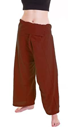 (Rayol Cotton) Fisherman Pants Trousers Yoga Pants On Sell With Complimentary