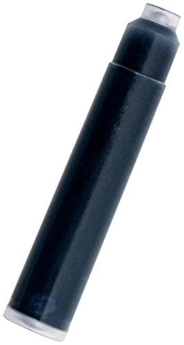 Monteverde International Size Cartridge for Fountain Pens - Blue/ Black (Pack of 6)