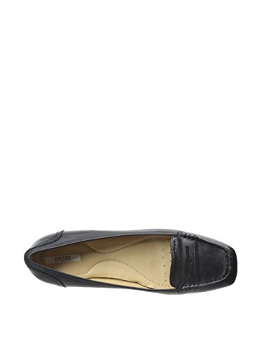 Mocassins, couleur Noir , marque GEOX, modèle Mocassins GEOX D STEFANI D Noir Noir