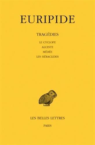 Vignette du document Le  Cyclope ; Alceste ; Médée ; Les  Héraclides