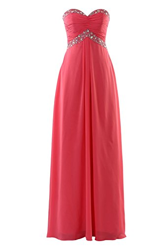 YiYaDawn -  Vestito  - stile impero - Donna Rot