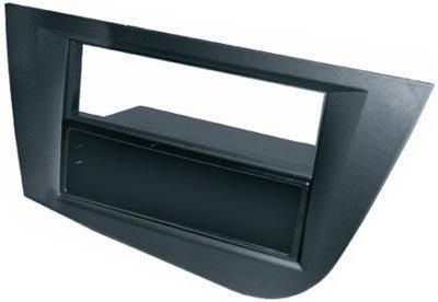 Tcentral_auto - Soporte autoradio d/d seat leon 05> gris oscuro