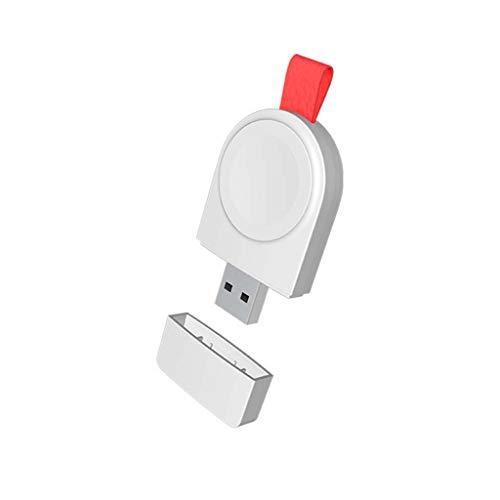 Bescita2 USB Wireless Ladegerät für Watch Ladestation Ständerhalter tragbar Schnellladestation Ladestation Magnetisch induktiv Ersatz Ladegerät Plattform Kompatibel mit IWatch Series 5 40 / 44mm