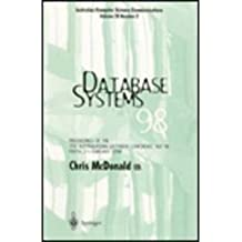 Database Systems 98: Proceedings of the 9th Australasian Database Conference - ADC'98 Perth, 2-3 February 1998 (Australian Computer Science Communications)