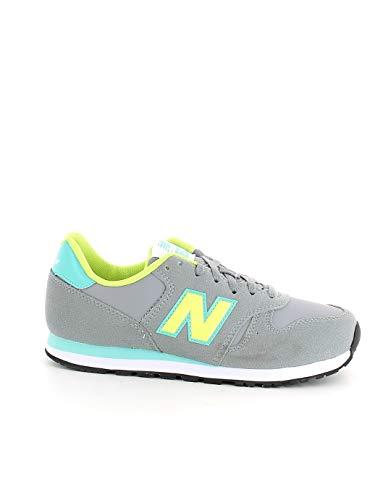 New Balance - New Balance 373 Laufschuhe Grau-Mädchen - Rosa,32.5 EU