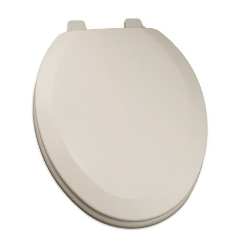 Comfort Seats C1B4E202 Deluxe Molded Wood Toilet Seat, Elongated, Biscuit by Comfort Seats