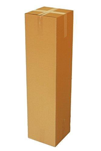 Haga® Carton pliable Carton d'expédition carton d'emballage 30 cmx30cmx120 cm 50 St.