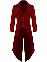 Chaqueta Retro de Mujer Steampunk de Abrigo Largo Gótico Elegantes Esmoquin 0241f68e89910