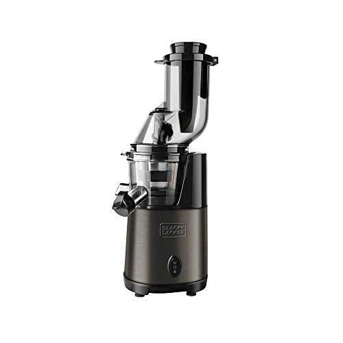 Black+decker bxje200e estrattore di succo, 200 w, acciao