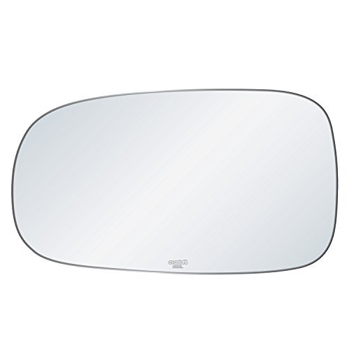 exactafit-8191l-replacement-side-mirror-glass-lens-fits-drivers-left-hand-lh-for-saab-9-3-93-95-9-5-