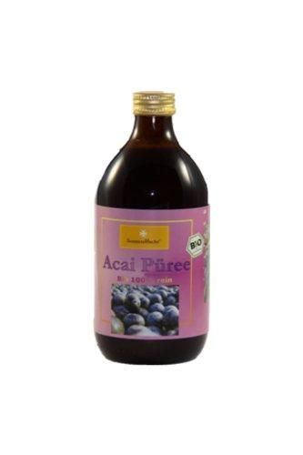 Açaí Püree - BIO Saft aus Basilien in der 500 ml Glasflasche