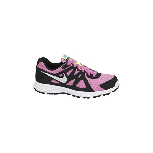 Nike , Damen Sneaker Rosa / Schwarz / Silber / Weiß