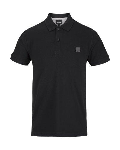 Bench Herren Langarmshirt Polo Shirt Tidie black (BK001)