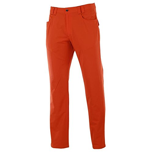 Dwyers & Co Motion Pro Golfhose Winter Thermo voll gefüttert - Orange - 36-29 -