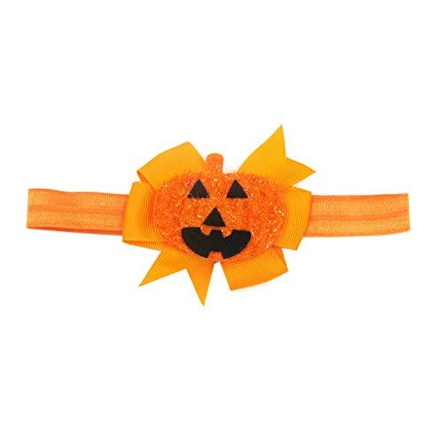 Junlinto Halloween Baby Mädchen Haarbögen Stirnbänder Kleinkind Infant Kinder Elastische Headwear -1