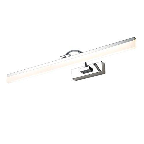 Luce Vanity LED Luce frontale mirror luci del bagno in acciaio inox a specchio gabinetto (Frontale Vanity)