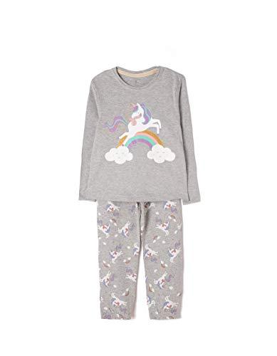 ZIPPY Unicornio Conjuntos de Pijama, (Mixed 1158), 12 años (Tamaño del Fabricante:10/12) para Niñas