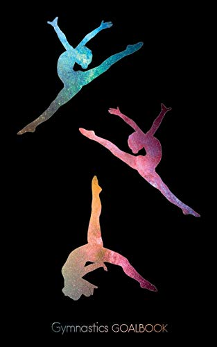 Gymnastics Goalbook (galaxy/black background cover #11): Wag (Gymnastics Goalbooks)