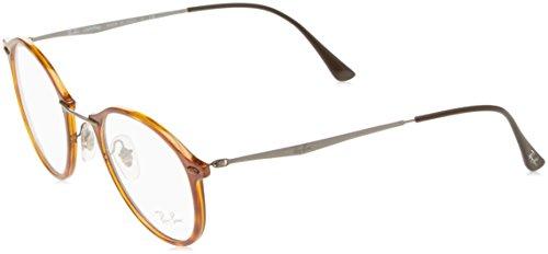 Ray-Ban Unisex-Erwachsene Brillengestell 0rx 7073 5588 49, Braun (Light Havana)