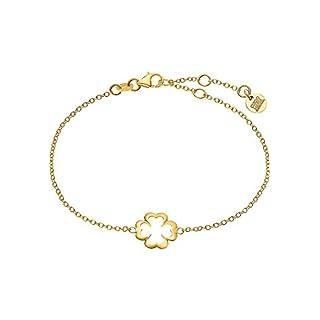 Guido Maria Kretschmer Damen-Armband 375er Gelbgold One Size, gold