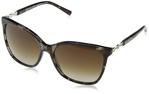 Michael Kors Unisex Sonnenbrille MK6029, Schwarz (Black/Havana 310713), One size (Herstellergröße: 56)