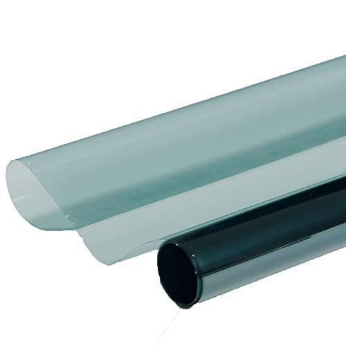 HOHO 49,8cm x9.8ft hellblau Auto getönte Fenster Kits Fenster Filme Hohe Isolierung Nano Keramik Glas Tint vlt75% - Fenster-folie Getönte