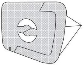 Lux D 820 garantito S/&G group L301MF 5 sacchetti microfibra Lux 1