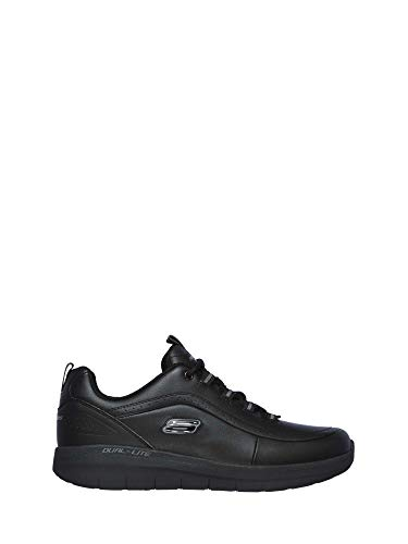Skechers uomo sinergy 2.0 westmarsh black scarpe comode memory foam (42 eu)