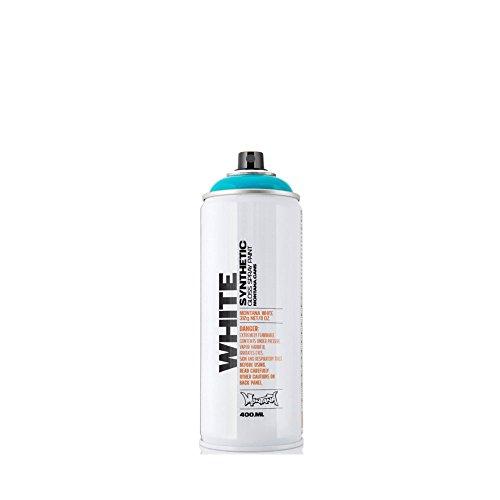 Montana WHITE Sprühdose CAN, 400 ml - viper green (Spray Green)