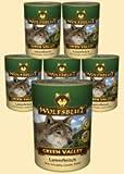 Wolfsblut Green Valley Nassfutter für Hunde mit 66% Lammfleisch 6 x 800 g