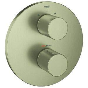 Grohe Grohtherm 3000 Cosmopolitan termostato parte exterior baño Cool Sunrise