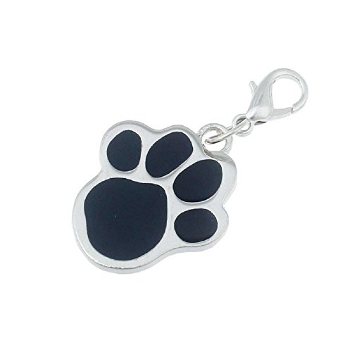 Doublehero Haustier Hunde Pfote Kragen Charme Pet Jewelry Hund Puppy Halsband Halskette Anhänger (A) -